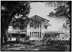 EXTERIOR, GENERAL VIEW, SOUTH FRONT - William Korber House, 903 Ponce de Leon Avenue, Santurce, San Juan, San Juan Municipio, PR