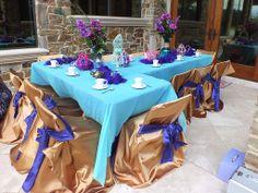 """Princess Jasmine tea party setting  """"LIKE"""" us on Facebook Aladdin Wedding, Aladdin Party, Princess Jasmine, Princess Party, Arabian Nights Party, Dream Tea, Tea Party Setting, Jasmine Tea, Tea Parties"""