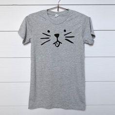 Cat Shirt - Funny Shirt - Fashion Shirt - Blogger Shirt - Sayings Shirt - Quote Shirt by thedharmastore on Etsy https://www.etsy.com/listing/265902485/cat-shirt-funny-shirt-fashion-shirt