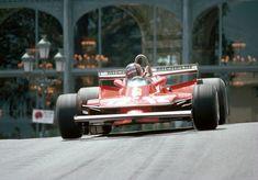 Gilles Villeneuve GP Monaco 1979 Ferrari Scuderia, Ferrari F1, Belgian Grand Prix, Gilles Villeneuve, Formula 1 Car, F1 Racing, World Championship, Race Cars, Pilot