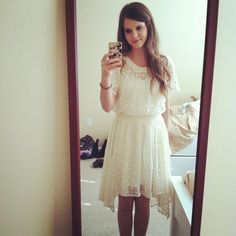 Tiffany Alvord loves this dress girls Tiffany Alvord, Casual Dresses, Girls Dresses, Flower Girl Dresses, Cute Pins, Celebs, Celebrities, Outfit Goals, Pretty Dresses