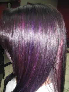Pravana Vivids Purple Hair  Www.facebook.com/rockyourlockshairsalon
