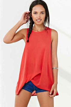 Project Social T Side-Tuck Muscle Tee - Urban Outfitters