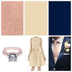 Wedding Colour Schemes Blush And Champagne On Pinterest