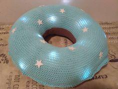 Crochet donut with lights