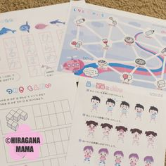 Japanese practice for kids