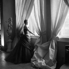 Now You Know: Charles James Was a Designing Genius—with an Ego to Match - Nancy James, 1955 from InStyle.com