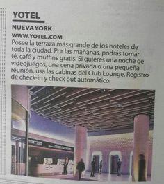 Hoteles contemporáneos: Nueva York