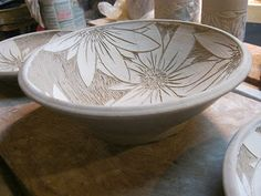 carved pottery bowls - Google Search