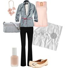 Pink and Gray I love this