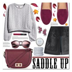 """Saddle Up!"" by asteroid467 ❤ liked on Polyvore featuring Warehouse, H&M, Fendi, Chamak by Priya Kakkar and NARS Cosmetics"