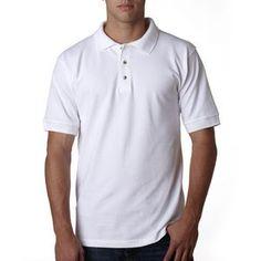 Bayside Adult Pique Short Sleeve Polo Shirt - Colors