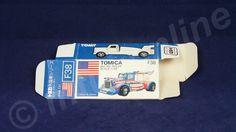 TOMICA F38 BIG RIG RACER | 1/98 | ORIGINAL BOX ONLY | 1982 - 1986