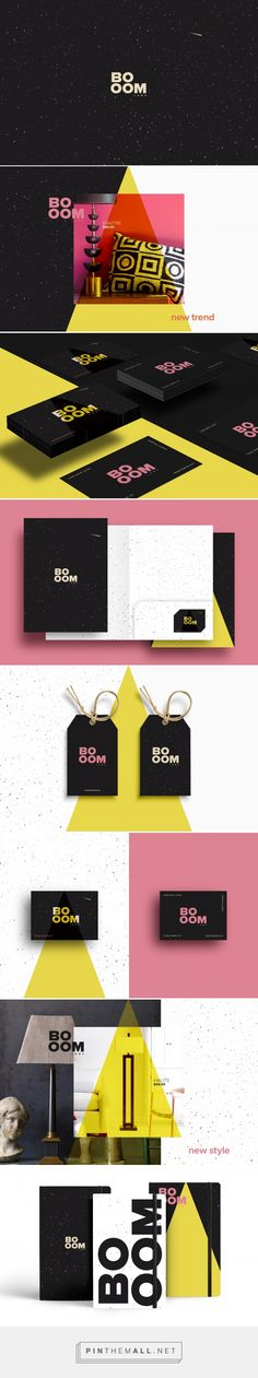 BOOM LAMP Branding by Nuket Guner Corlan  | Fivestar Branding Agency – Design and Branding Agency & Curated Inspiration Gallery
