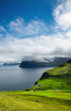 Trollanes, Island of Kalsoy, the Faroe Islands