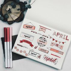50 Header Ideas by Month for Your Bullet Journal Bullet Journal School, Bullet Journal Headers, Bullet Journal Banner, Bullet Journal 2019, Bullet Journal Notebook, Bullet Journal Ideas Pages, Bullet Journal Inspiration, Journal Fonts, Bullet Journal Lettering Ideas