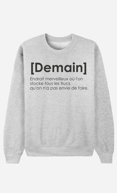 Sweat Femme OG Air Max doux et confortable - Wooop Sweat Shirt, Sweat Gris, Funny Shirts, Tee Shirts, Funny Jokes, Mode Shop, Mode Inspiration, Fashion Inspiration, Mode Style