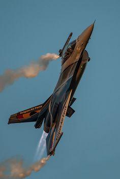 Belgian Air Force by Justyna Płochocka