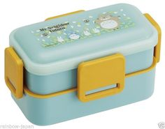new setting 6 Product Name : My Neighbor Totoro Lunch Food Container Bento Box 600ml 4 Lock Manufacture : Sketer Condition : Brand new Include : My Neighbor Tot