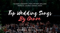 Stop fretting about the tunes! Our complete guide to wedding music songs will give you the perfect songs you need to plan every stage of your wedding! Wedding Ceremony Entrance Songs, Wedding Ceremony Pictures, Barn Wedding Photos, Wedding Ideas, Top Wedding Songs, Wedding Music List, Palm Wedding, Wedding Dj, Wedding Dress Preservation