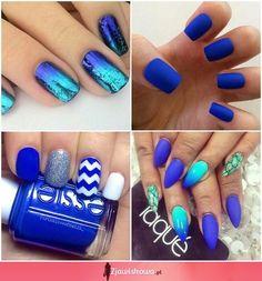 Bild über We Heart It https://weheartit.com/entry/167415410 #blue #loveit #nails