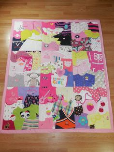 First Year Quilts – Memory Quilts by Lauryn Martin