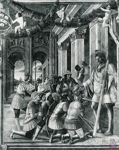 Scenes from the Life of St.Christopher by @artistmantegna #earlyrenaissance