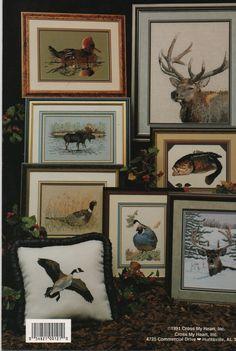 Cross stitch pattern Book  Wilderness Wildlife by creekyattic, $4.50
