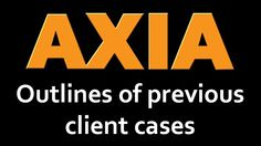 Axia Consulting: Outlines of previous client cases -  System selection:  • short listing a new HR payroll system for a business services organization • short listing and selecting an integrated job costing, payroll, accounting and management information system for an automotive engineering services company • short listing and selecting an integrated accounting system for a major city financial institution • short listing a new payroll system for an engineering company