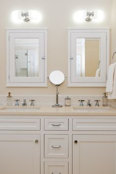 Photo Of beadboard bathroom white bathroom double vanity cottage style bathroom Remodeling Our Home Pinterest Bathroom double vanity Cottage style