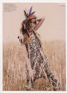 Bambi, model,  inspiration, mood board, tribal