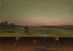 Gremlin in the Studio: 1875 by Martin Johnson Heade (Wadsworth Atheneum, Hartford, Connecticut)