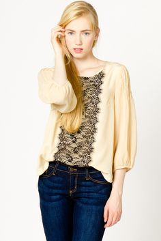 I have a lavender blouse very similar to this that I found @ a thrift store for $1!