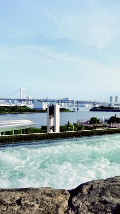 Tokyo Bay offers a serene escape from the bustle of the city. #Japan