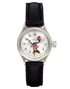 Disney Classic Minnie Mouse Black Watch