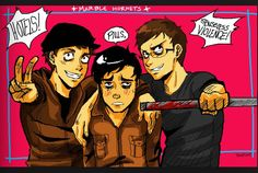 Awesome! XD whoever did this, Tim is adorable and love the blush
