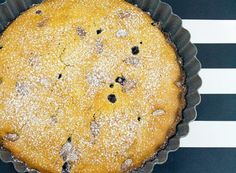 Denny Chef Blog: Torta allo yogurt, mandorle e mirtilli