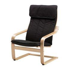 POÄNG Cojín de sillón IKEA La funda es fácil de limpiar, ya que se puede quitar y lavar a máquina.