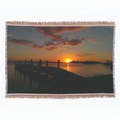 Gorgeous Ocean View Throw Blanket