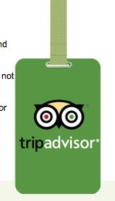 #Free Luggage Tag from Trip Advisor