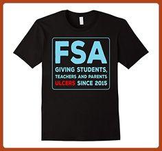 Mens FSA Giving Ulcers Since 2015 T-Shirt. Teacher Student School Large Black - Careers professions shirts (*Partner-Link)