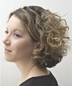 Short Naturally Curly Hairstyles Bing Images