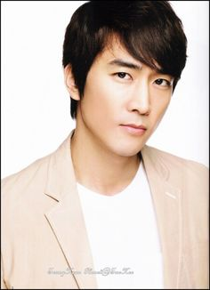 송승헌  Song Seung Hun  Birthdate: 1976-Oct-05  A little too smoothly handsome, kind of bland.   My Princess, When a Man Loves, etc.