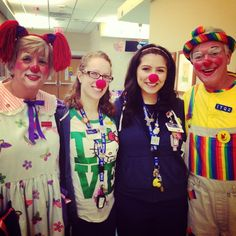 A day in the life of a child life specialist. Medical clowns at K. Hovnanian Children's Hospital at Jersey Shore University Medical Center with Child Life Specialist Luiza Oganesian and Sara Auerbach.