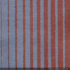 Takigawa in Rust/Snow from Zak and Fox. Love this stripe!