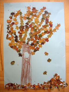 Jesienne drzewo