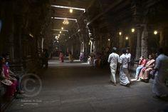 Hindu Devotees @ a Kovil in Colombo