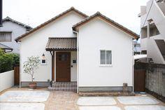 Casa pequena, simples e barata de ser construída, sem, contudo, deixar de ser graciosa