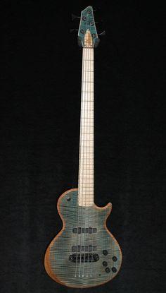 beautiful hand-built bass from Delaney Guitars - Atlanta