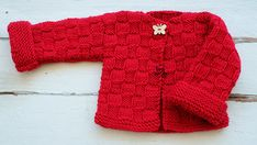 An adorable yet easy knitting pattern for beginners: Learn to knit a kid's Cardigan, step by step. It's knitted flat, and if you know your knits and purls, this is for you! Easy Knitting Patterns, Free Knitting, Baby Knitting, Baby Cardigan, Sweaters, Kids, Slovenia, Jumpers, Fashion